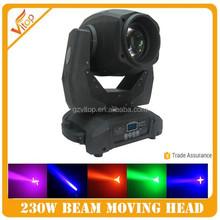 Dj light 230 beam moving head nigh club light / stage light