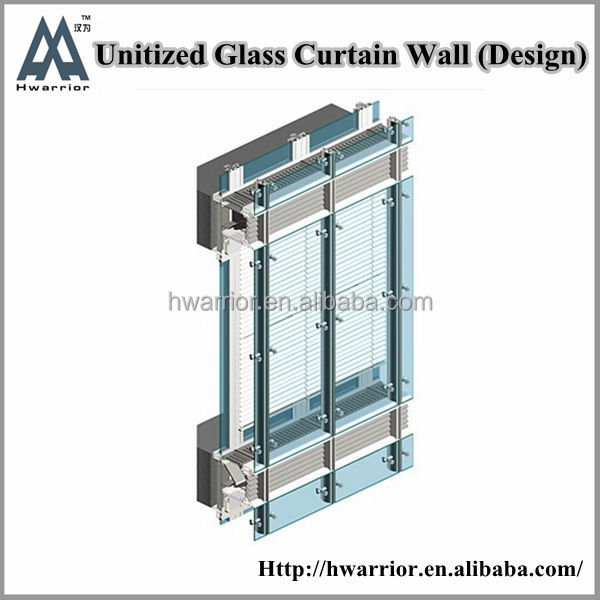 Curtain Wall Section,Glass Curtain Wall Section,Glass Curtain Wall