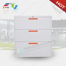 most popular 3 drawers metal office furniture with handle