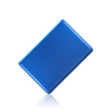 Hard PC clear crystal plastic material case for mac book air 11 blue color
