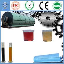 Proyecto de energía renovable de China Equipos para el reciclado de aceite usado de los neumáticos de plástico