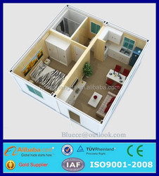 shipping container homes for sale from india/two bedroom prefabricated house