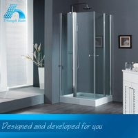 Elegant Top Quality Low Price Latest Designs Polished Smart Glass For Shower Door
