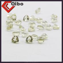 AAA High Quality Lemon Quartz Fat triangl shape Gems tone 4*4MM Cheap Wholesale Price