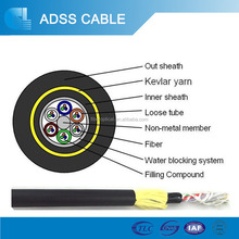 Hot Sell Aerial Dielectric Self-Supporting ADSS Optical Fiber Cable