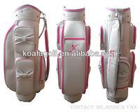 2013 Canvas Fashion Design your own golf bag for Lady Golfer