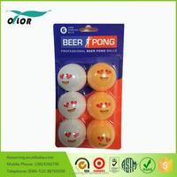 Table Tennis Balls Ping Pong balls Orange/White