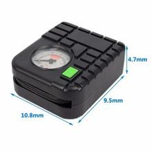 12v car mini compressor air pump air compressor tire inflator 80PSI electric car air pump