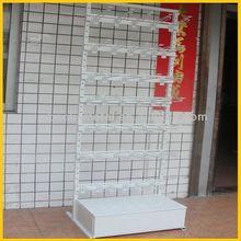floor standing supermarket notebook display rack
