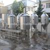 300L micro beer brewing equipment stainless steel beer tank manhole