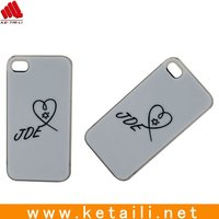 hard PC phone cover, cellphone case for iphone 5 5s with silk screen printing