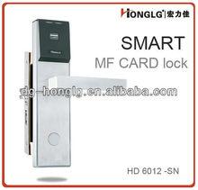 HD6012RF CE bloqueo de la tarjeta del hotel con certificación