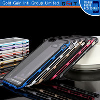 Soft TPU Bumper PC Matte Cases Mobile Phone Cover for iPhone 6