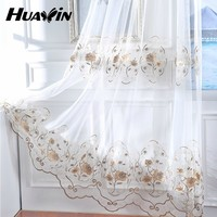Hot China Products Wholesale flower embroidery tulle fabric