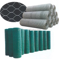 High quality cheap hexagonal wire mesh with pvc coated /galvanized hexagonal wire mesh by rolls packing
