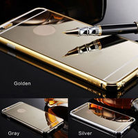 Aluminium Mirror Case for iphone 6, Aluminum Case for iPhone 6, Metal Mirror Back Cover for iPhone 6