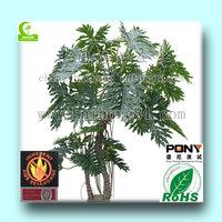 2015 wholesale High Quality Artificial1-3m taro & philo plants