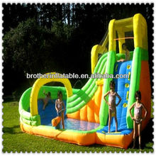 Inflatable childrens swings and slide