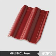 fiberglass spanish roofing tiles/flat ceramic roof tile