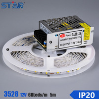 CE RoHS certified DC12V SMD3528 led flexible strip light 60 led/m