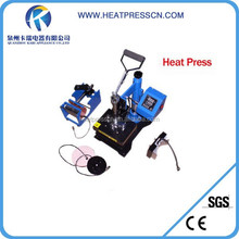 Flatbed 5 in 1 heat press machine transfer with Ce certificate