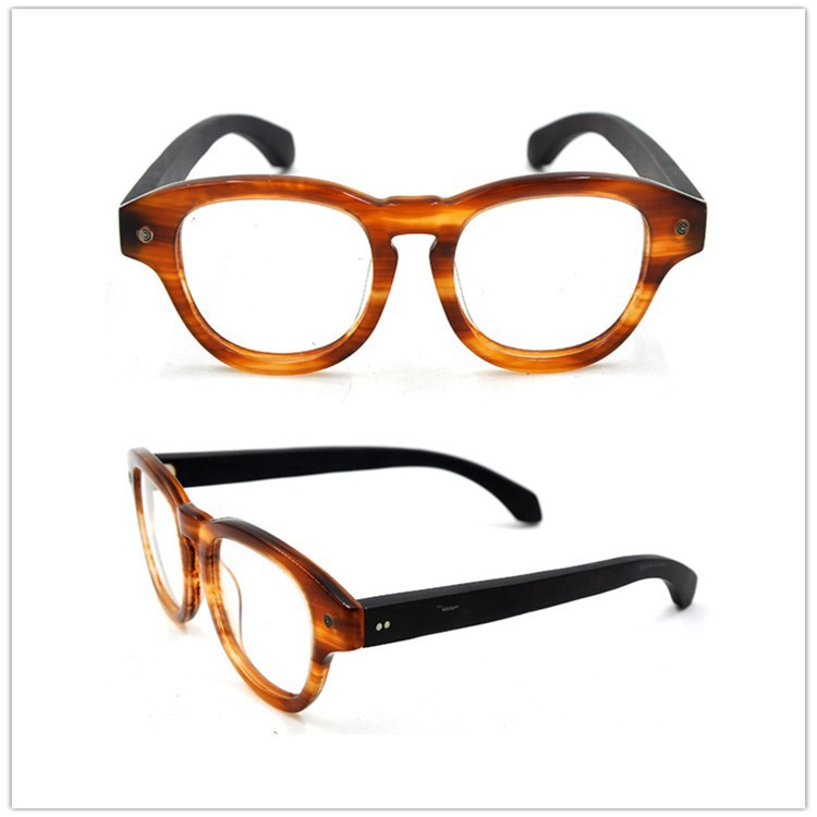Plastic Eyeglass Frame Polish : Young Glasses Frames,Acetate Plastic Optical Frame,Round ...