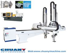 5 axis High speed robot arm used in multiple molded injection molding machine thin wall product injection machine