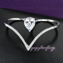 Two finger gold heart ring designs for girls