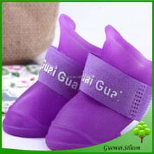 New Design Fashion Silicon Pet Dog Shoes For Summer Wholesale Price Pet Apparel & Accessories