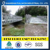 portable steel bridge 18m bailey bridge