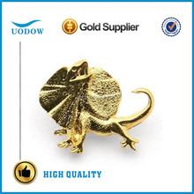 3D animal gold lapel pins