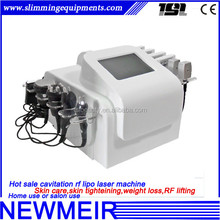 Multipurpose radio frequency RF lipo laser 40k ultrasound cavitation skin smoothing build shaping device