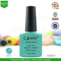 30917o Canni factory 7.3ml nail gel polish nailpolish Gel polish nail kits free