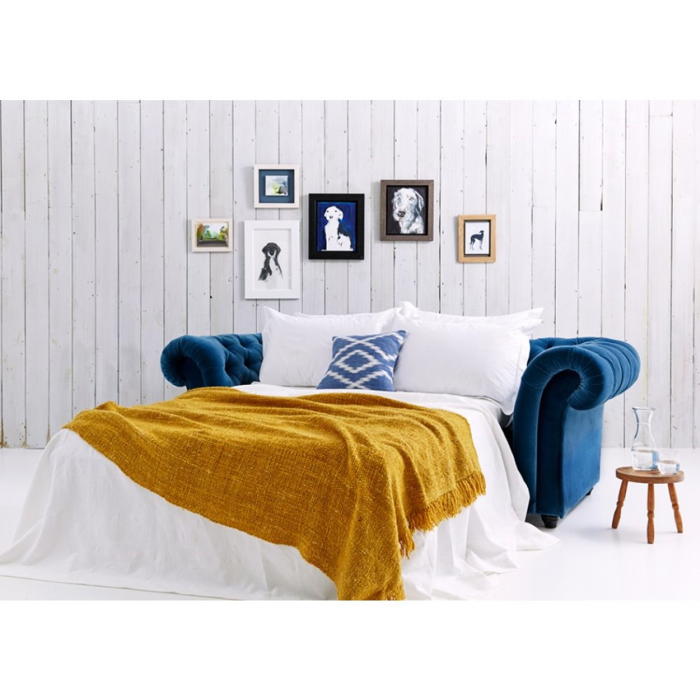 Sb012 Antique European Sleeper Chesterfield Sofa Bed