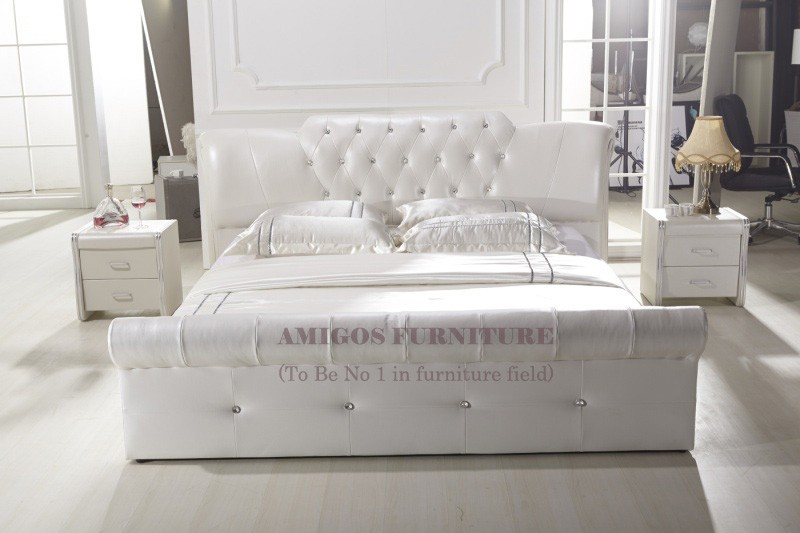 Leather Bed Frame King King Size Leather Sex Bed