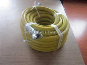 bề mặt trơn nhẵn jackhammer màu vàng và màu đỏ cao su ống khí với oem dịch vụ và giá cả tốt nhất
