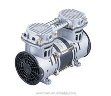 UN-60P-OXY Medical oil free air compressor 110 LPM, 3.5 bar 400W 1/2HP supplier
