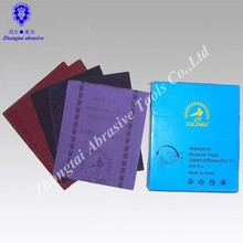 China Agent Eco-friendly Abrasive Cloth in Sheets with Different lable