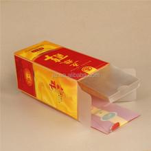 RGB printing packaging box , pvc print plastic box packaging