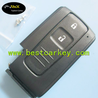 Top Quality 2 buttons smart key case for toyota prius key toyota key fob case