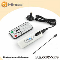 Digital satellite DVB t2 usb tv stick Tuner with antenna Remote HD TV Receiver for DVB-T2/DVB-C/FM/DAB