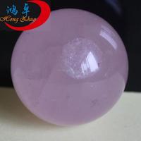 Natural 50mm rose quartz stone ball/crystal quartz ball rose quartz spheres/polished stone sphere