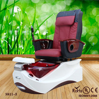 2015 wholesale fiberglass spa pedicure chairs&outdoor acrylic hot tub spa with MP3 (KZM-S811-3)