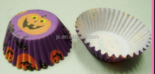 Pumpkin Pattern Cupcake Liners Paper Muffin Cups Baking Supplies For Halloween Day