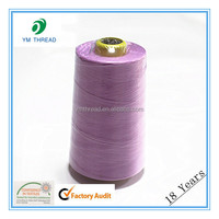 40/2 5000y 100% Spun Polyester Sewing Thread For Overlocking