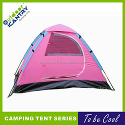 outdoor pink camping tent lady camping tent girls outdoor tent