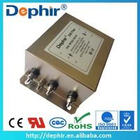 Electromagnetic Wave Shielding Three Phase Radio Noise Filter