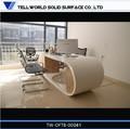 Elegante voguish moderne büro-möbel High-End künstliche stein büro-schreibtisch