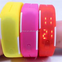 Women/ Men Touch Screen LED watch/red led wrist watch