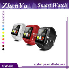 2015 Cheap U8 Smart Watch/Bluetooth Smart Watch/Android Smart Watch,Wholesale Price Of Android Smart Watch Phone